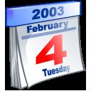 Calendar, Date, Event, February icon