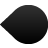 prev, attach, map, pin, back, previous, backward, left, arrow icon