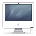 iMac iSight Graphite PNG icon