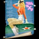 date, schedule, calendar, retro icon