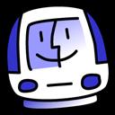 iMac Indigo icon