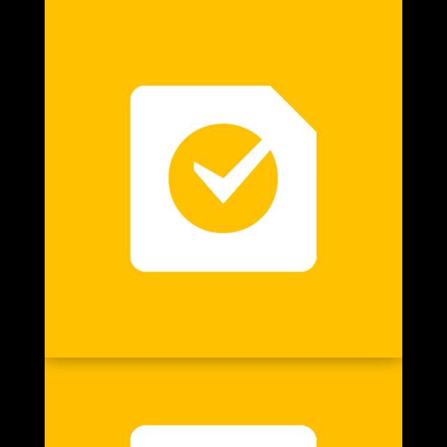task, mirror, google icon