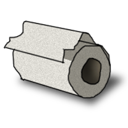 file, document, paper, toilet icon