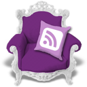 Rss, Violet icon