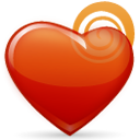 valentine's day, heart, love icon