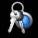 car keys, keychain, password, keys, access icon