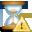 error, hourglass icon
