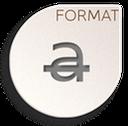 format text strikethrough icon