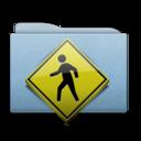 folder,blue,public icon