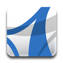 Acrobat, Adobe, Standard icon