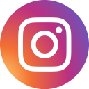 social media, round, circle, social network, photos, instagram icon