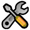 configiure, toolbars icon
