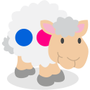sheep, social network, flickr icon