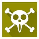 one piece, ussop pirates icon