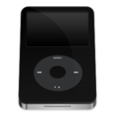ipod,video,black icon
