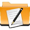 kde, txt, folder icon