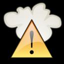 severe, weather, alert icon