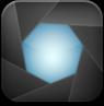 aperture,black icon