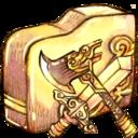 folder,swordaxe icon