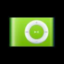 ipod,shuffle,green icon