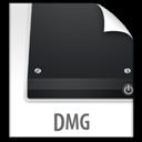 Dmg, File, z icon