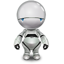 robot, marvin, automator icon