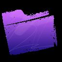 folder, purple icon