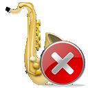 saxophone, instrument icon
