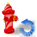 Fire, Plug, Reload icon