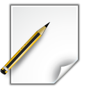 actions document properties icon