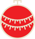 ball, xmas, decoration, christmas icon