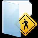 sign, public, folder icon