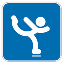 Figure, , Skating icon