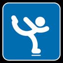Figure, , Skating icon