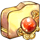 folder,orb,redmagic icon