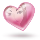 heart, valentine, love icon