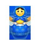 Blue, Inside, Matreshka icon