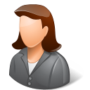 female, client icon