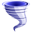 weather, windy, storm, typhoon, tornado, forecast, whirlwind, twister, wind, disaster icon
