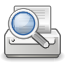 print, preview, document icon