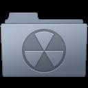Burnable, Folder, Graphite icon