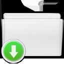 box, drop, folder icon
