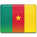country, cameroon, flag icon