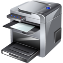printer, multifunction icon