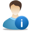 personal, information icon