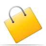 diagram, e commerce, shopping bag icon