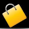 ecommerce, shopping bag icon