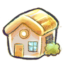 places, home icon