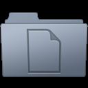 Documents Folder Graphite icon