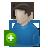 add, account, plus, profile, human, people, user icon